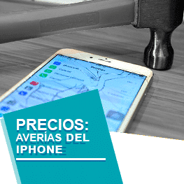 cambiar pantalla rota iphone