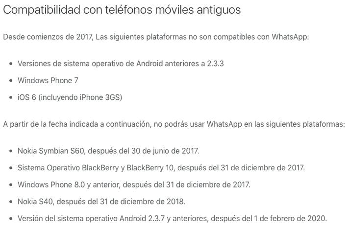 WhatsApp-dejarara-de-funcionar-en-2018