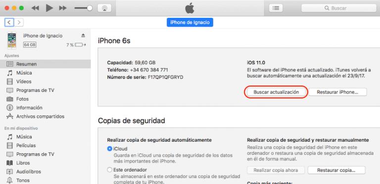 Problemas de iOS 11 ¿Es posible volver a instalar iOS 10? 3