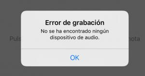 fallo ic de audio iphone 7